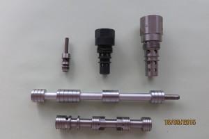 Usinage de pièce hydraulique en acier