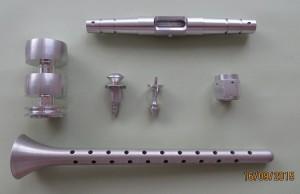 Décolletage pièce aluminium